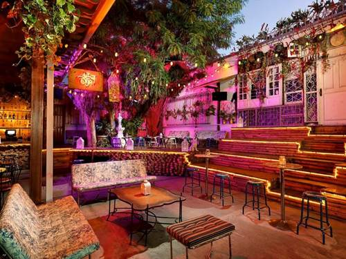 el patios open air layout and funky latin vibe have made it a hot spot in the wynwood art - El Patio Wynwood